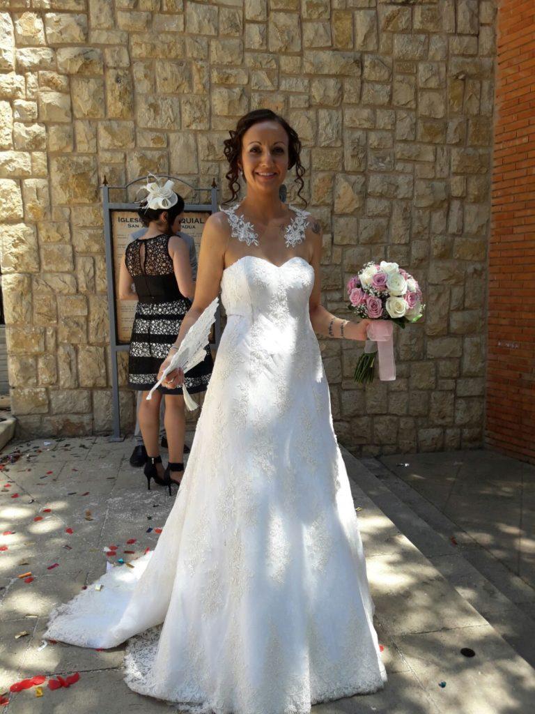 vestido novia a medida